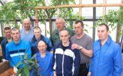 Дружная команда садоводов